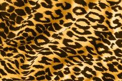 Stampa animale su tessuto Fotografie Stock Libere da Diritti