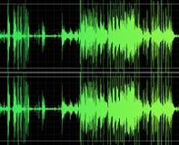 Stampa audio Fotografie Stock Libere da Diritti