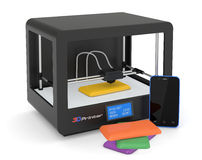 stampa 3D Immagine Stock