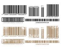 Stampa del codice a barre Fotografie Stock Libere da Diritti