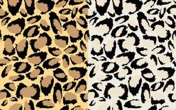 Stampa del leopardo Fotografia Stock