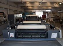 Stampa della pressa - macchina di derivazione Immagini Stock Libere da Diritti