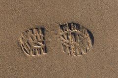 Stampa della scarpa Immagini Stock Libere da Diritti