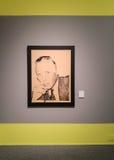 Stampa di Andy Warhol Giorgio Armani fotografia stock