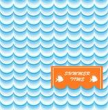 Stampa di carta di estate Fotografia Stock Libera da Diritti