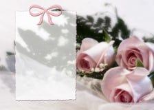 Stampa fragile & vaga della Rosa Immagine Stock