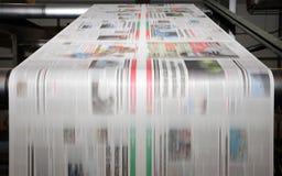 Stampa in offset di tendenza Fotografie Stock Libere da Diritti