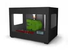 stampante 3D Fotografie Stock Libere da Diritti