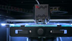 stampante 3D durante il lavoro Immagini Stock