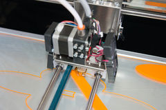 stampante 3D & x28; FDM& x29; Fotografia Stock Libera da Diritti