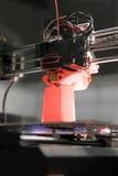 stampante 3D per plastica Immagini Stock