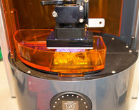 stampante 3D & x28; SLA e DLP& x29; Fotografia Stock Libera da Diritti