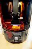 stampante 3D & x28; SLA e DLP& x29; Fotografie Stock Libere da Diritti