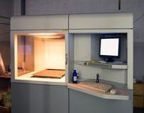 stampante 3D & x28; SLA e DLP& x29; Fotografia Stock