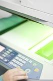 Stampante del fax fotografie stock
