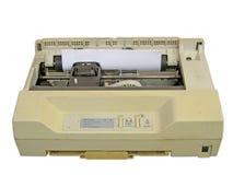 Stampante di con matrici a punti Fotografia Stock