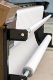 Stampante di getto di inchiostro industriale Fotografie Stock Libere da Diritti