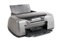 Stampante a getto di inchiostro della foto, isolata fotografia stock