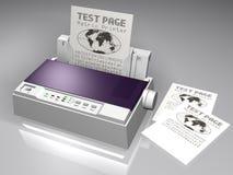 Stampante a matrice Fotografia Stock