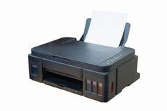 Stampante nera Fotografia Stock