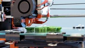 Stampante tridimensionale della plastica 3d Fotografia Stock
