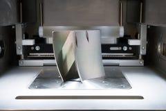 Stampanti del metallo 3D & x28; DMLS& x29; immagine stock libera da diritti