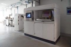 Stampanti del metallo 3D & x28; DMLS& x29; Fotografie Stock