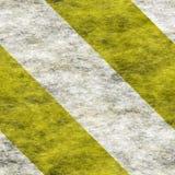 Stampato in neretto bianco giallo Fotografie Stock Libere da Diritti