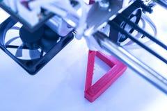 Stampatrice tridimensionale Immagini Stock Libere da Diritti