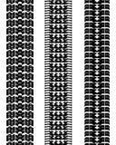 Stampe delle automobili della gomma Immagini Stock