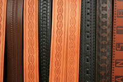 Stamped Belts Royalty Free Stock Photography