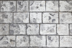 Stamped concrete floor background Stock Image