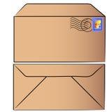 Stamped envelope Stock Photos
