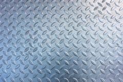 Stamped metallic color steel floor plate Stock Images