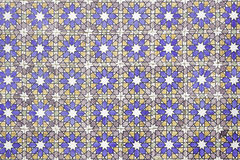Stamped tiles Royalty Free Stock Photography