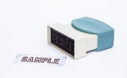 Stamper Royalty Free Stock Image