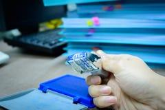 Stamper för datummånadår fotografering för bildbyråer