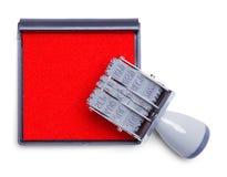 Stampfer mit Auflage Lizenzfreie Stockfotografie