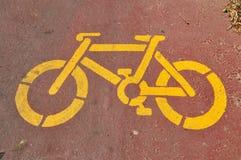 Stampino della bicicletta Fotografie Stock Libere da Diritti