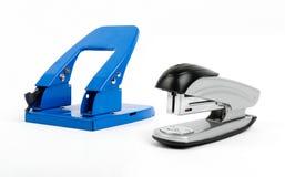 Stampler en perforator Royalty-vrije Stock Fotografie
