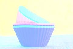 Stampo per dolci filtrato del silicio Fotografie Stock