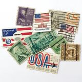 Stamps Stock Photography