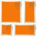 Stamps Royalty Free Stock Photo