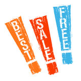 Stamps for best sales royalty free illustration