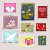 Stamps Royalty Free Stock Images