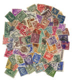Stamps mail. Royalty Free Stock Photos