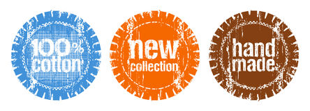 Stamps for new collection Royalty Free Stock Images