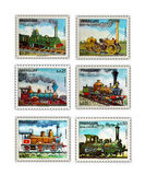 Stamps Postage, Collection, Paraguay Royalty Free Stock Images