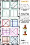 Stamps and prints picture puzzle Royalty Free Stock Photography