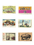 Stamps: US vintage stamps Stock Photography